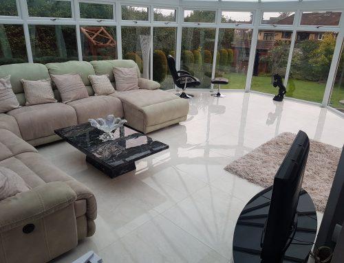 Conservatory Floor Tiling