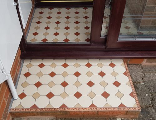 Victorian Tiled Porch