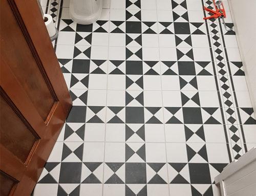 Victorian Bathroom Floor